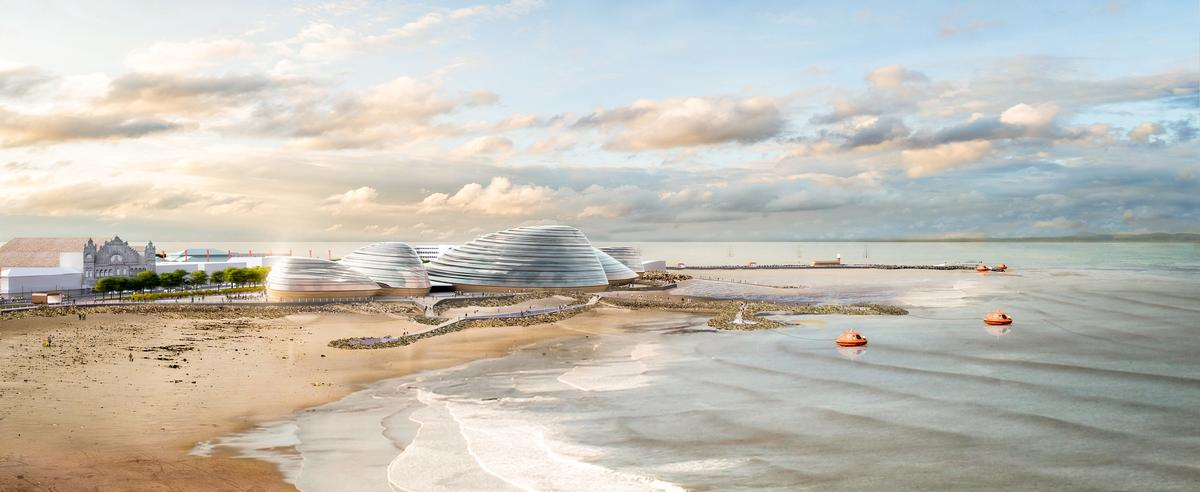 A planning application for the project is due to be submitted in 2020, with a potential opening in 2023 / Grimshaw Architects