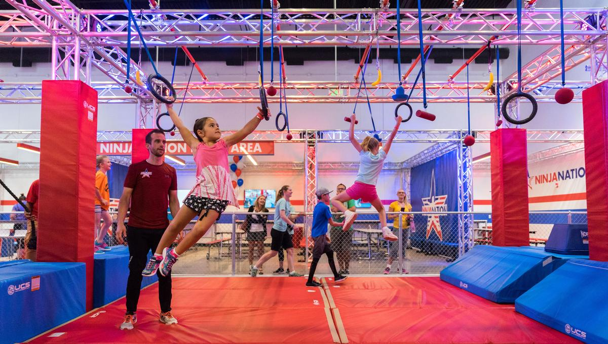Targeting the family market, Ninja Nation facilities are equipped with a variety of obstacles catering for 'ninjas of all ages and skill levels'
