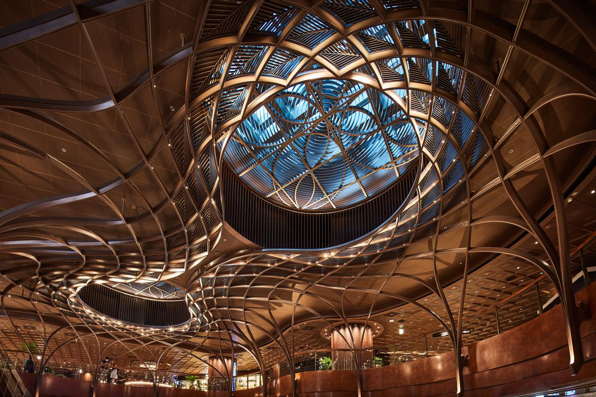 LAAB Architects created an Oculus aimed at creating a cathedral effect and filling the Opera Theatre with natural light / K11 Group