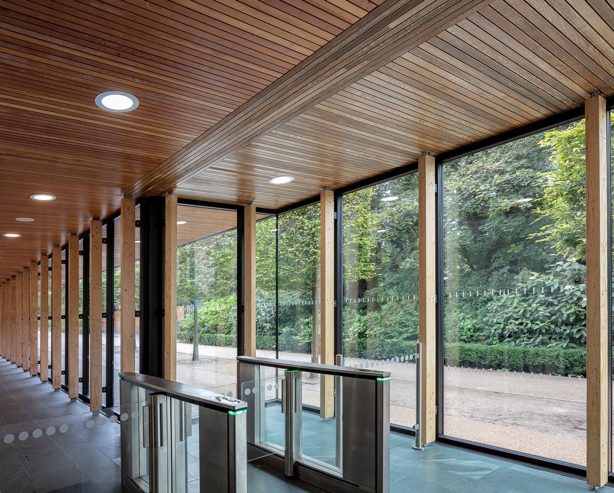 The original building was completed in 2006 by Feilden Clegg Bradley Studios / Tamara Shiner