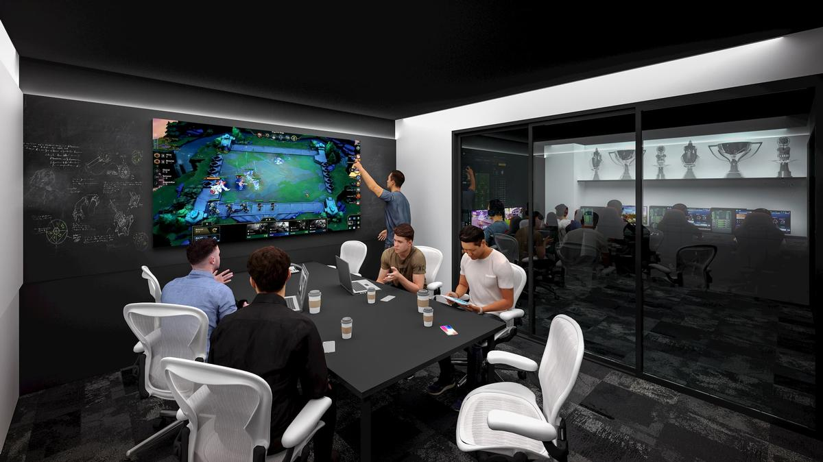 The venue will also house a professional esports boot camp room and training facilities / Populous