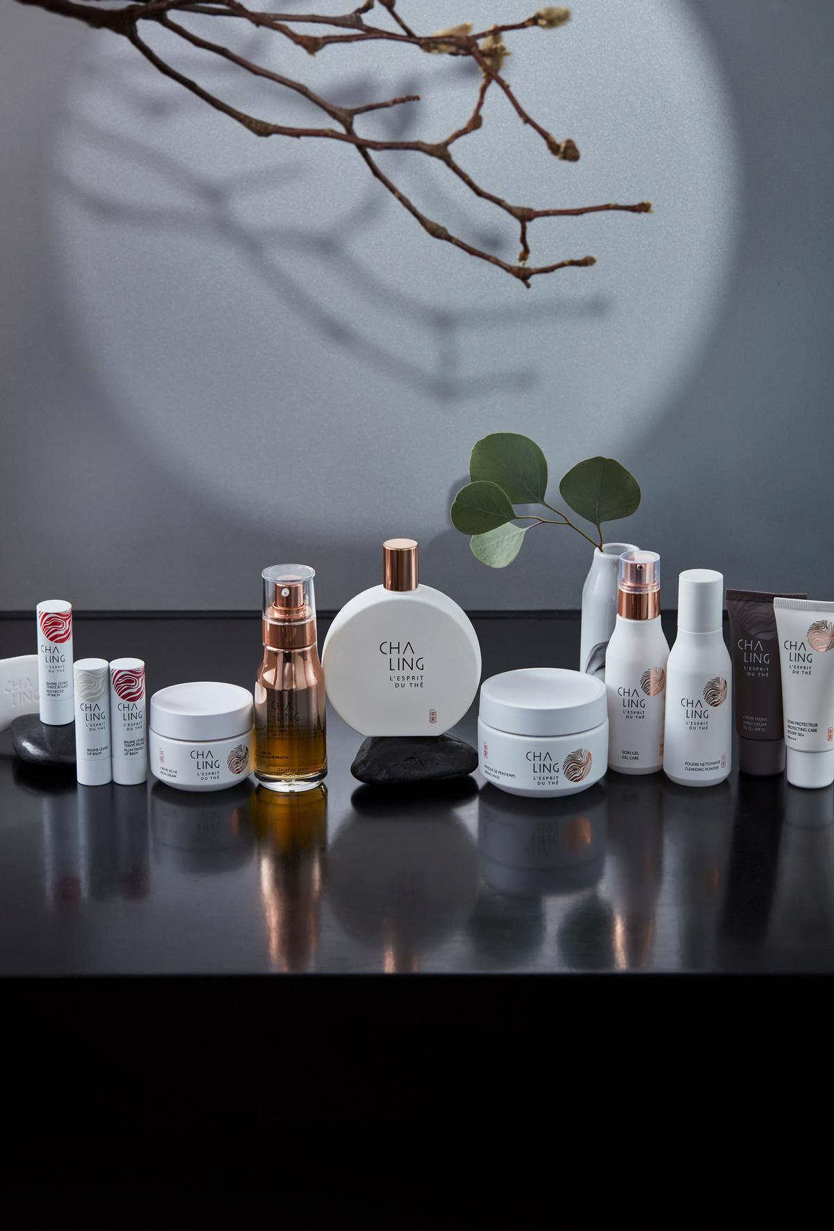 CHA LING was co-founded by Laurent Boillot, the CEO of Guerlain.
