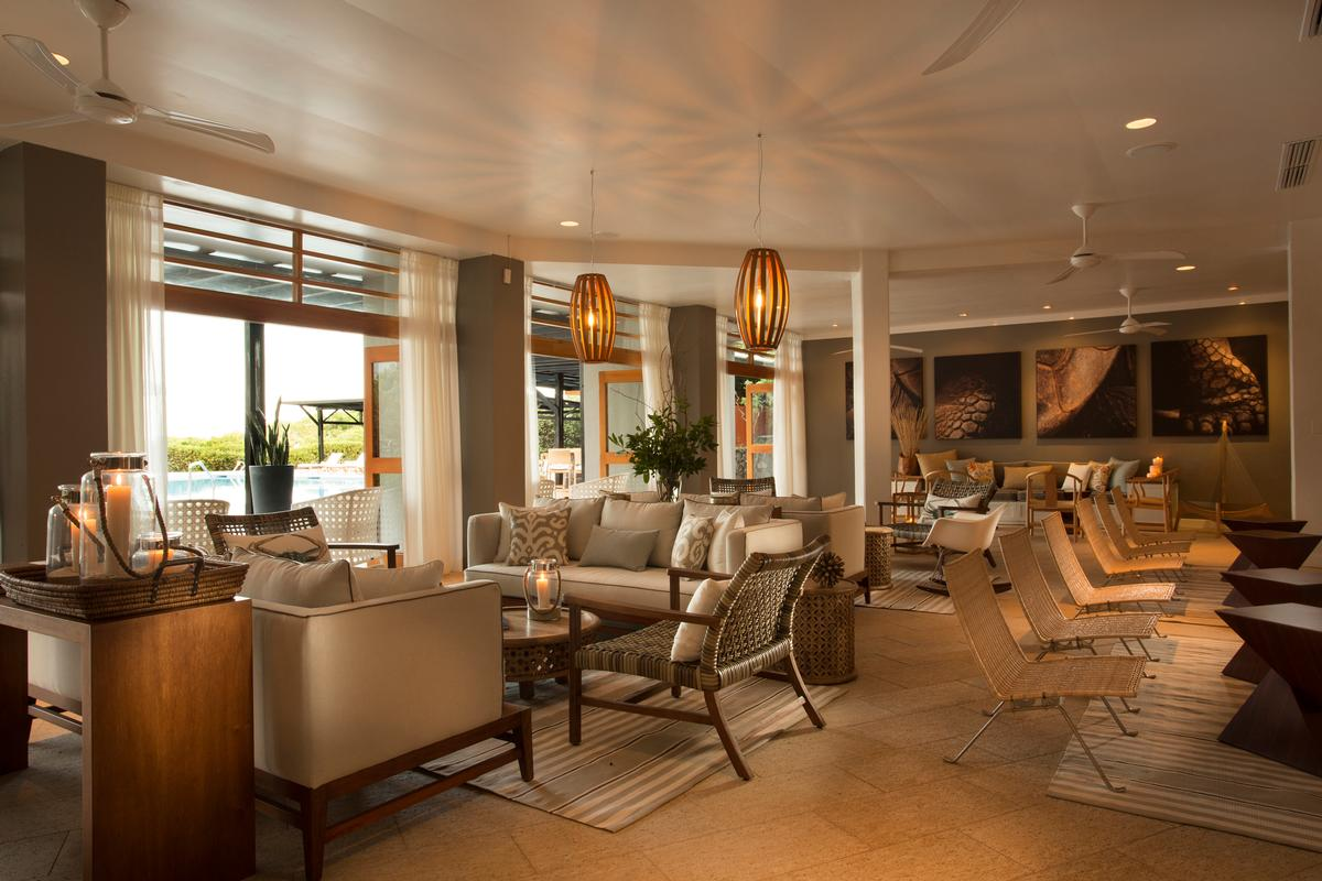 Finch Bay Hotel operates multiple sustainability procedures to save energy and decrease emissions