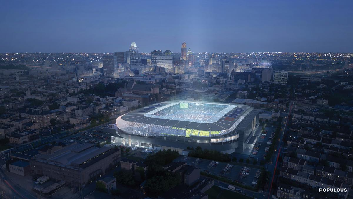 The stadium will have a capacity of up to 26,500 / Populous