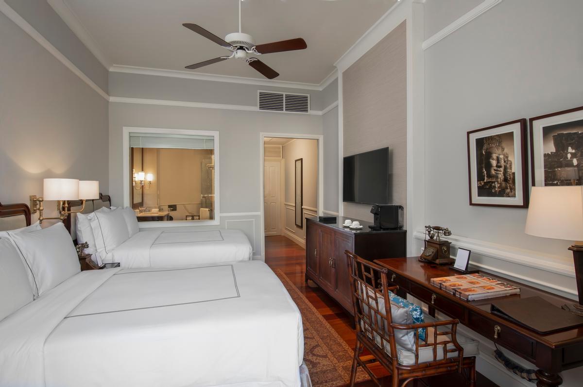 A State Room at the Raffles Grand Hotel d'Angkor / Accor