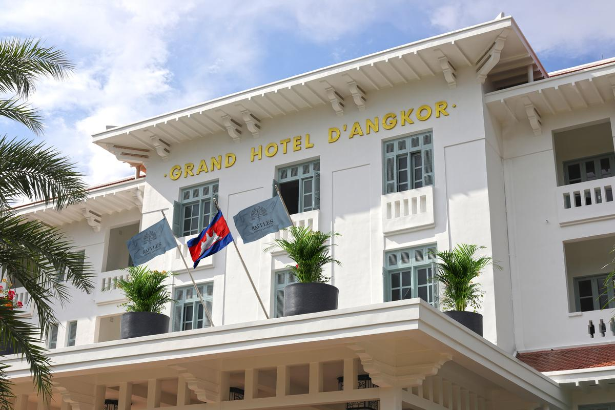 The building's colonial façade has been refreshed / Accor
