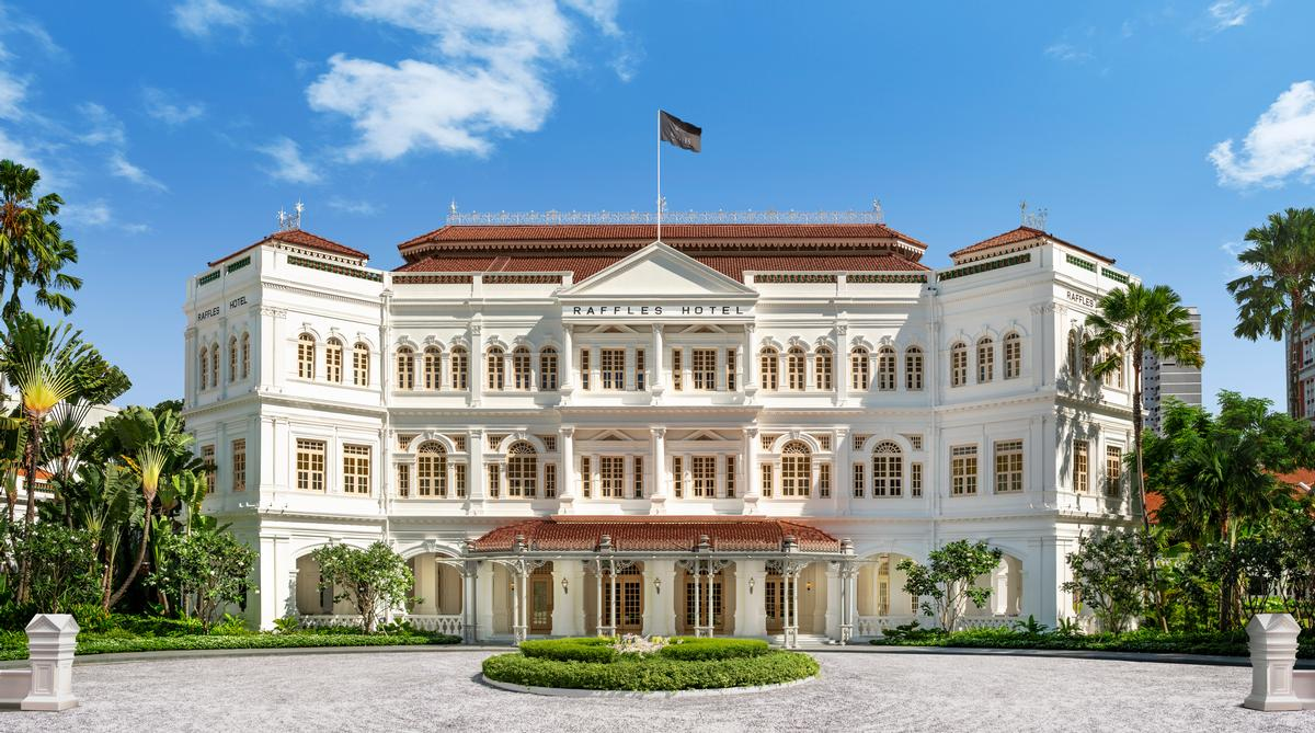 Restoration work at Raffles Singapore began in 2017 / Accor