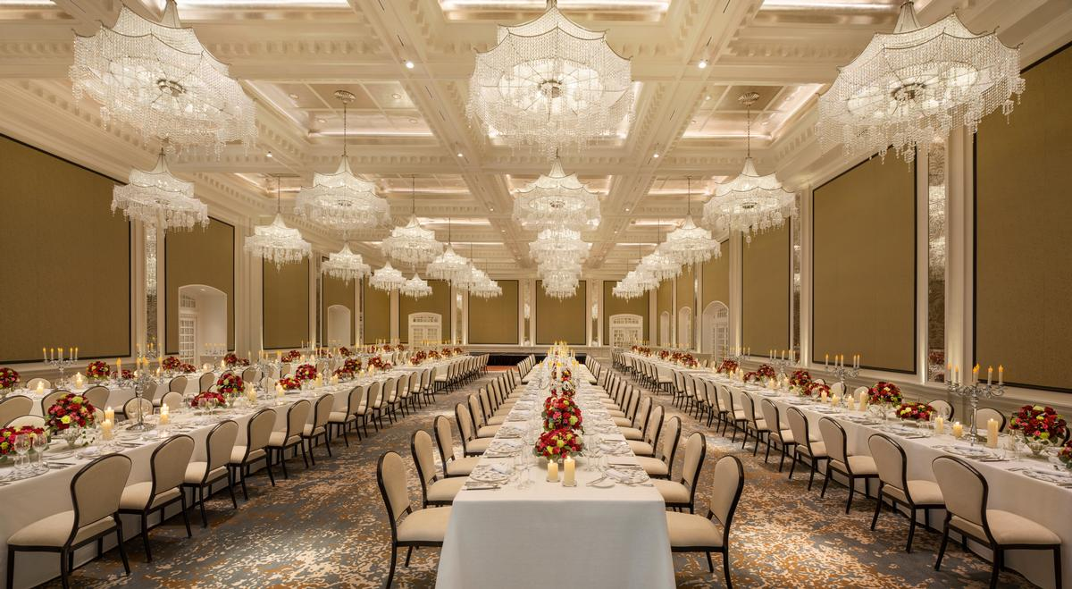 The Jubilee Ballroom at Raffles Singapore / Accor