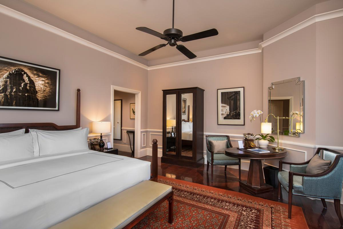 All 119 rooms and suites have been updated with hardwood floors / Accor