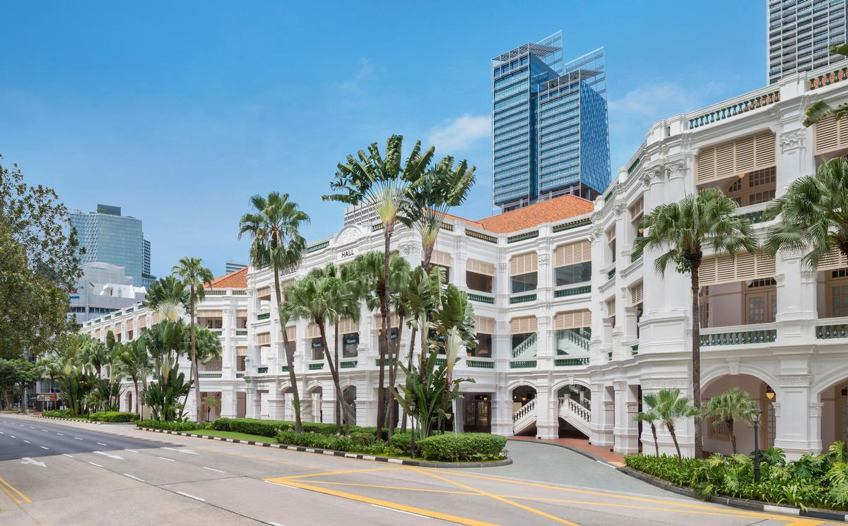 The restoration work at Raffles Singapore was completed this summer / Accor