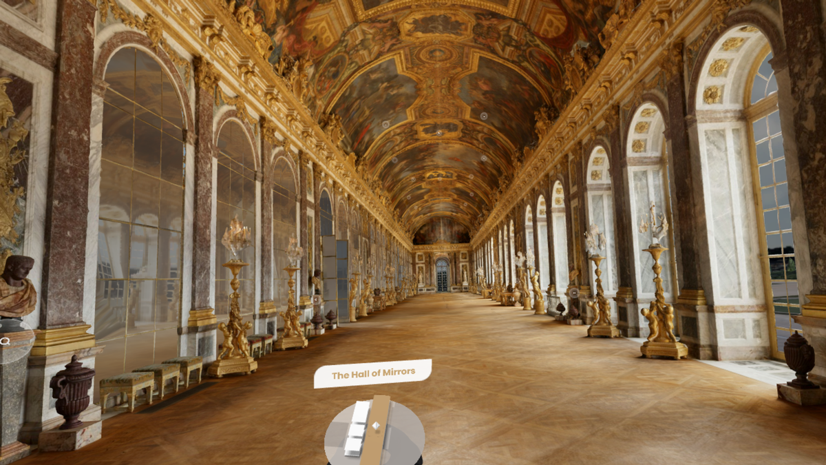 The Hall of Mirrors was originally mapped by Google in 2013 using its Street View technology / Google