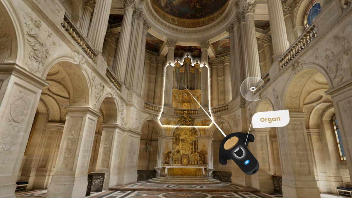 The Versailles: The Palace is Yours exhibit takes visitors on a tour of 24 rooms / Google