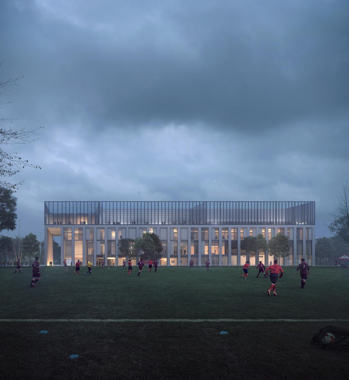 Britannia Leisure Centre by FaulknerBrown Architects / FaulknerBrown Architects