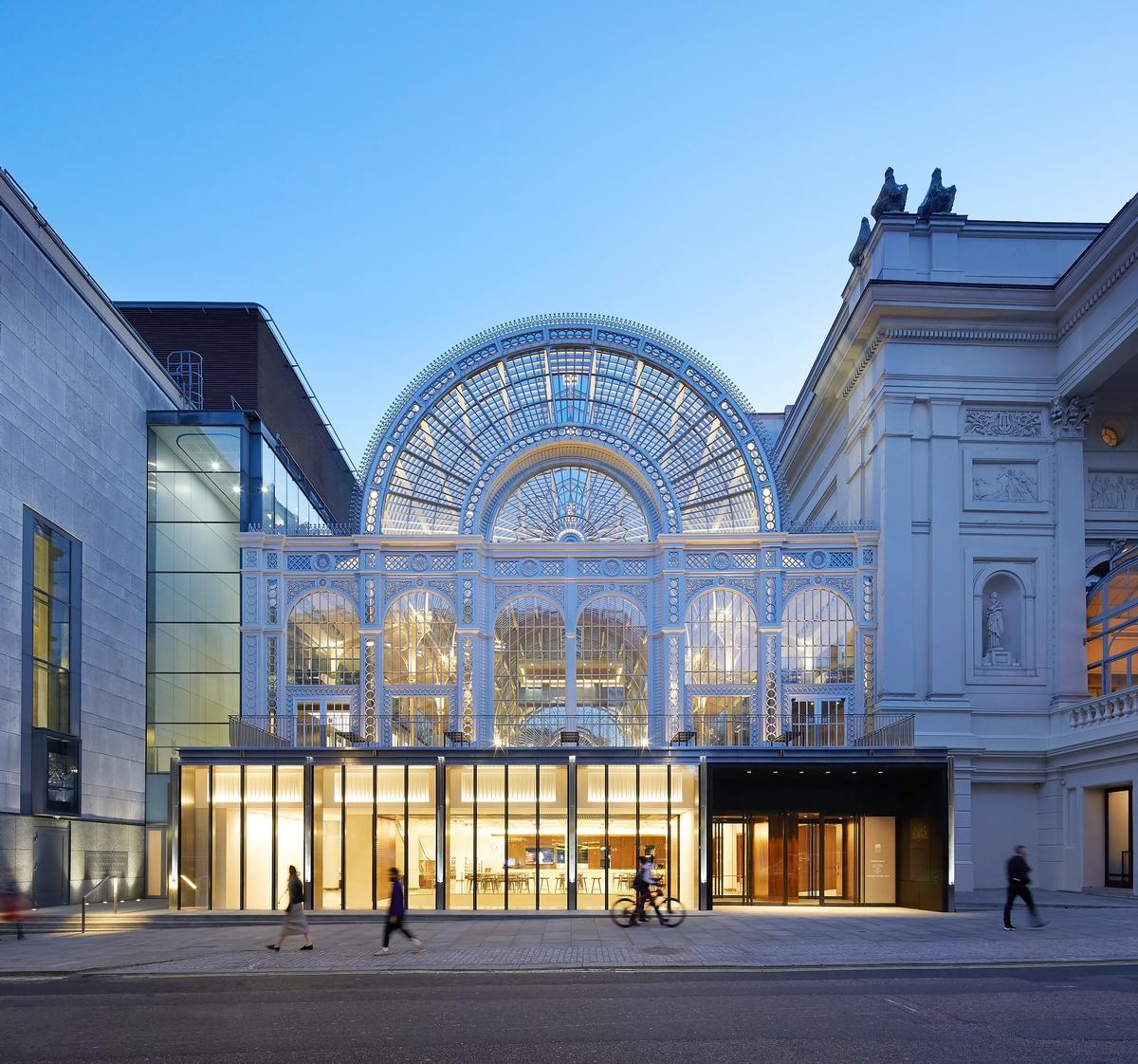 Royal Opera House 'Open up' by Stanton Williams / Hufton+Crow