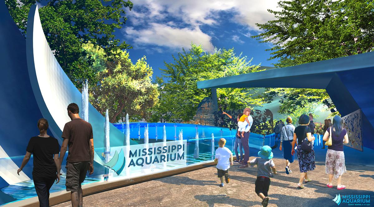 Eley Guild Hardy-designed Mississippi Aquarium to open in April 2020