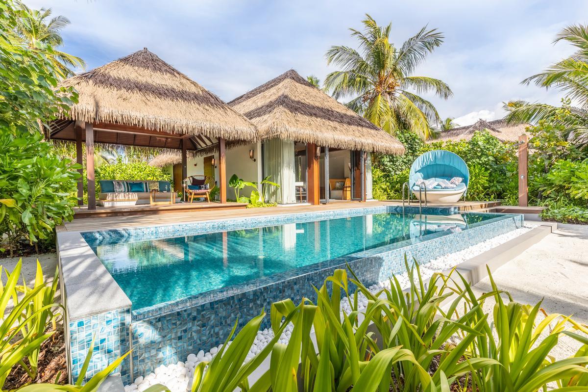The resort is home to six restaurants