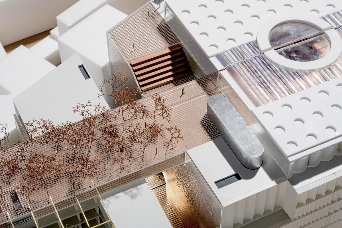 The project is expected to be completed by autumn 2023 / OMA