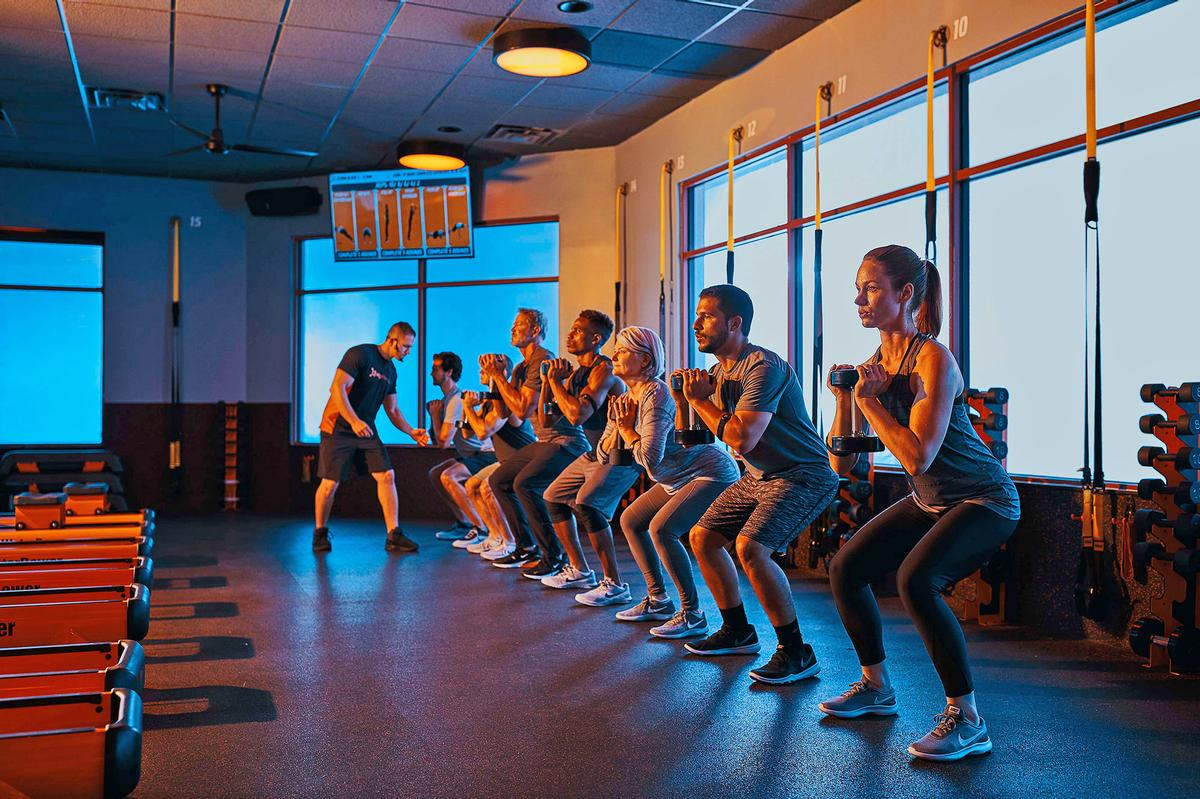 Orangetheory offers 60-minute HIIT sessions featuring five different exercise zones