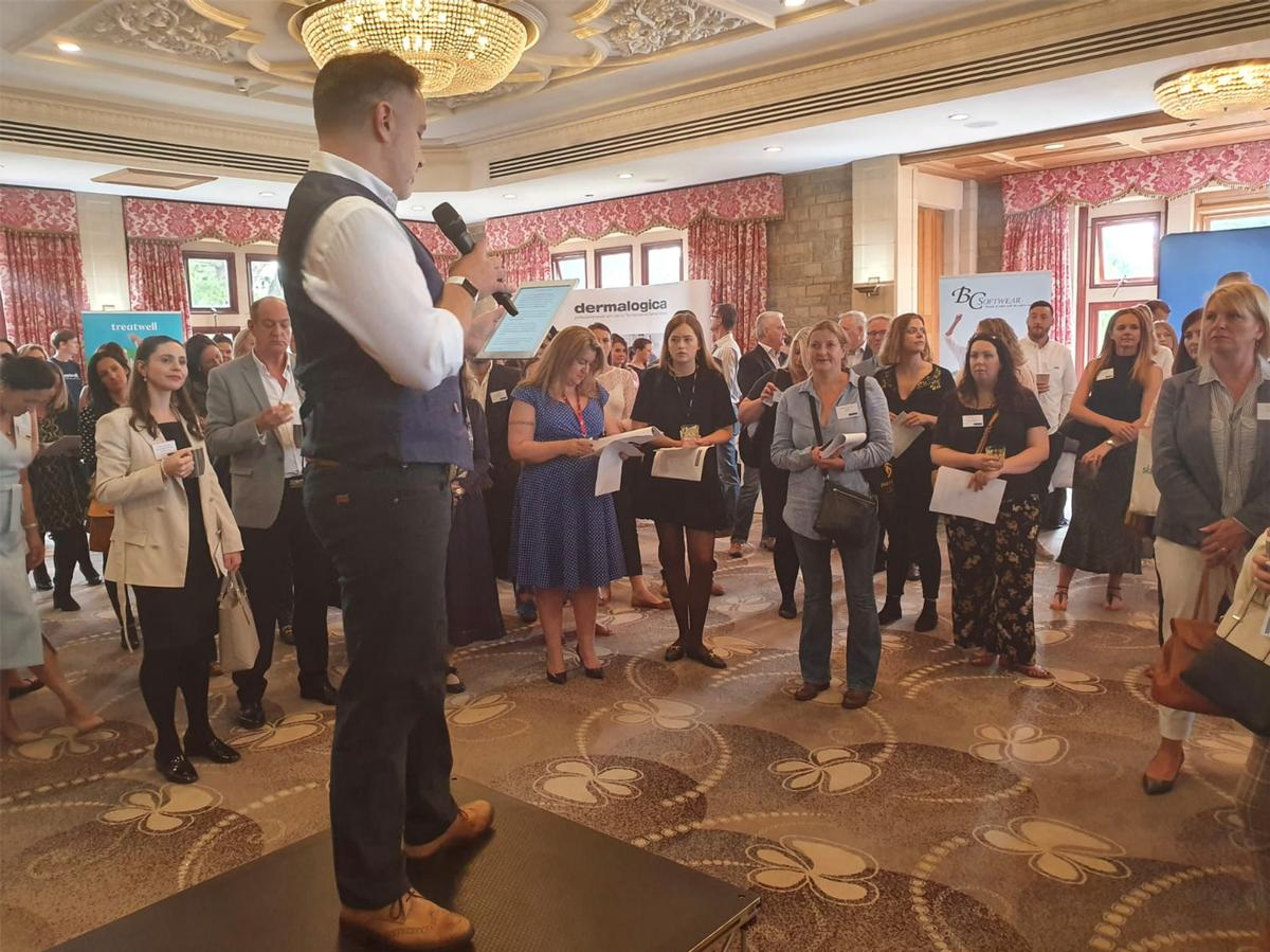UKSA chairman Adam Chatterley made the announcement at the Summer Networking & Spa Directors Assembly at South Lodge Spa