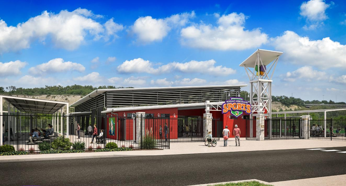 Ultra-accessible sports facility planned by wheelchair accessible theme park Morgan's Wonderland