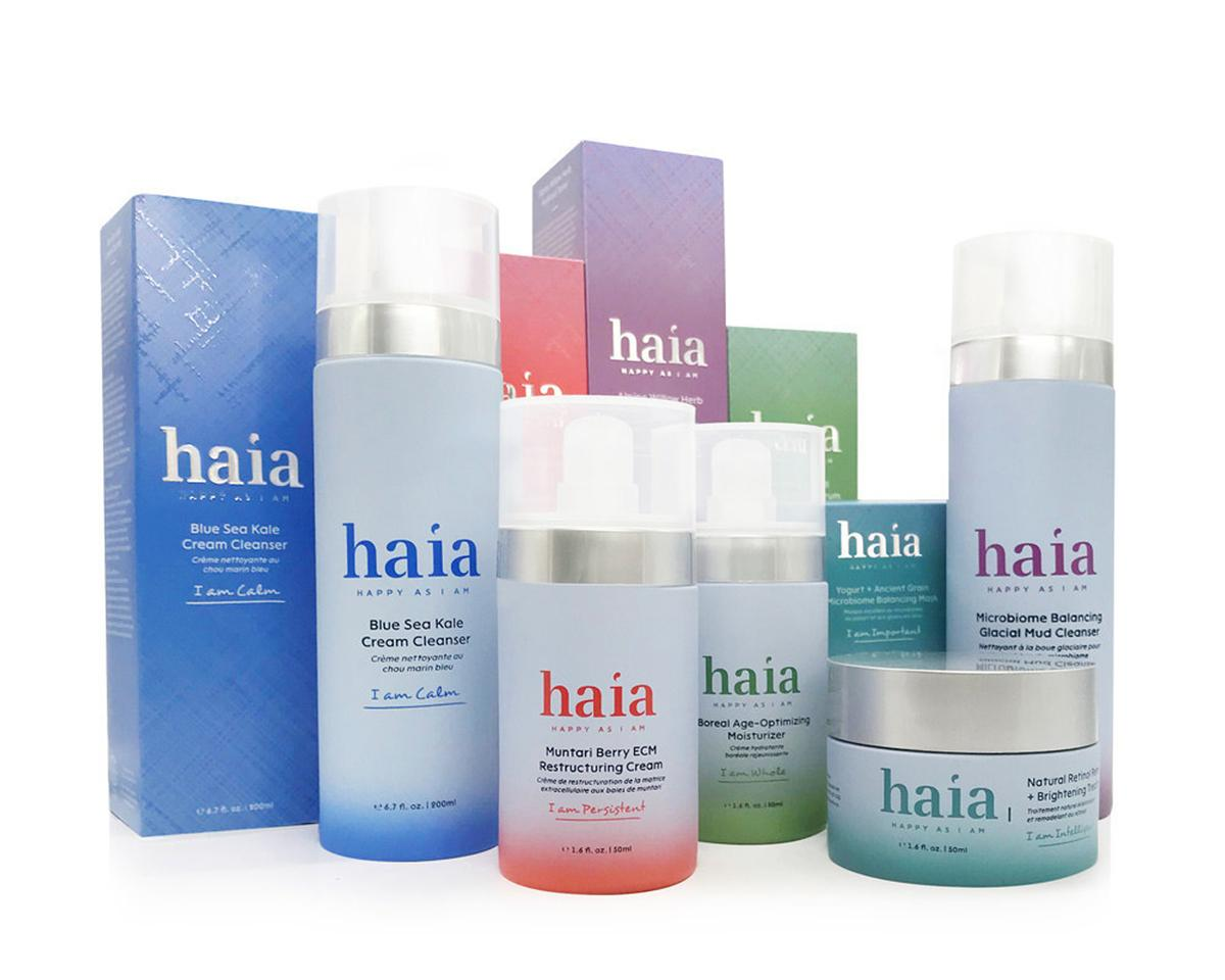 HAIA was formulated to promote a healthy skin microbiome