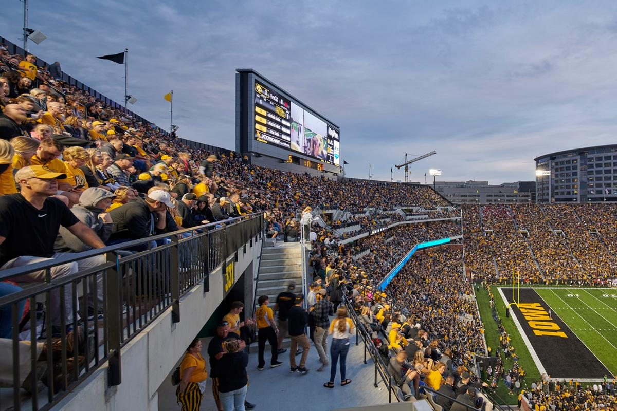 The stadium has a capacity of around 70,000 people / Cameron Campbell
