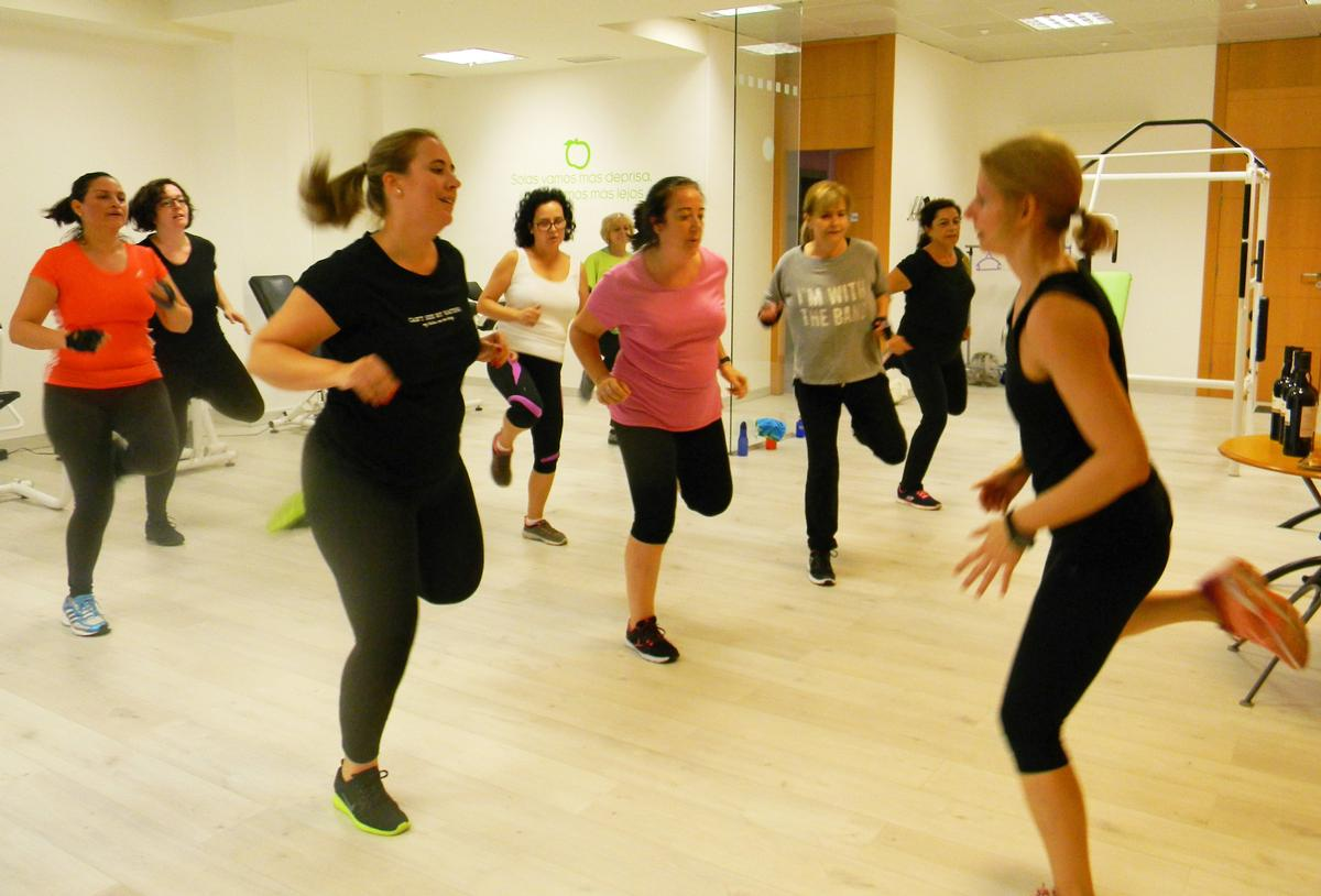 Spain's first VivaFit is located in the heart of the Madrid's financial district Barrio de Cuzco