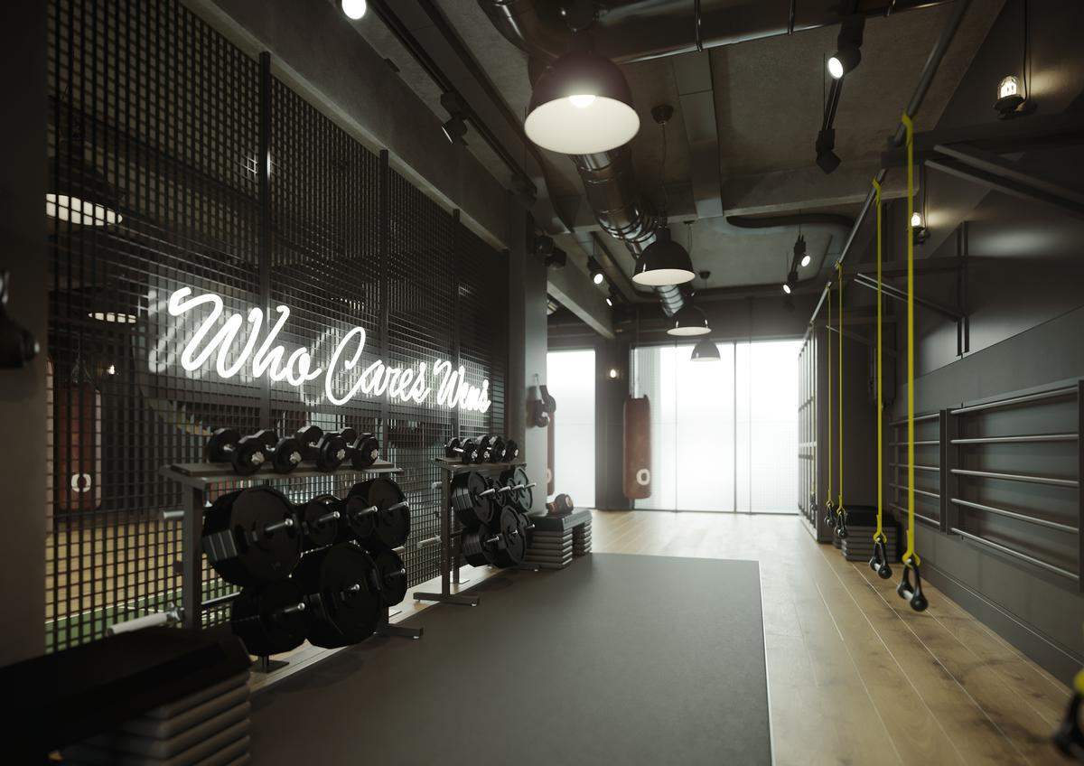 The 10,000sq ft (930sq m) Hero Training Club took two years to design and build / Hero Training Club