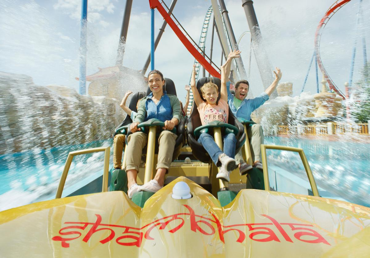 PortAventura World Parks & Resort claims to be Europe's largest family leisure and holiday destination resort