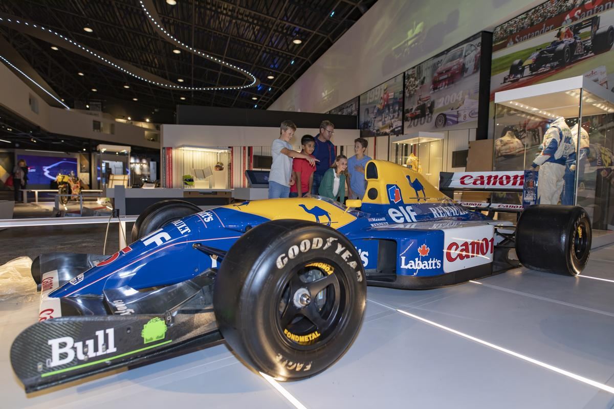 From Wellington Bombers to Formula 1, Mather & Co and Cube Design create the Silverstone Experience
