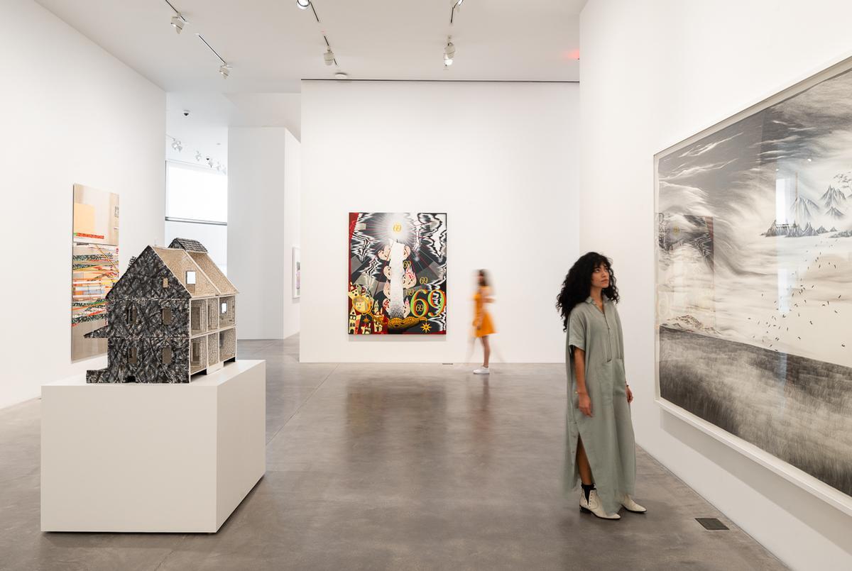The gallery is located in San Antonio, Texas / Mark Menjivar