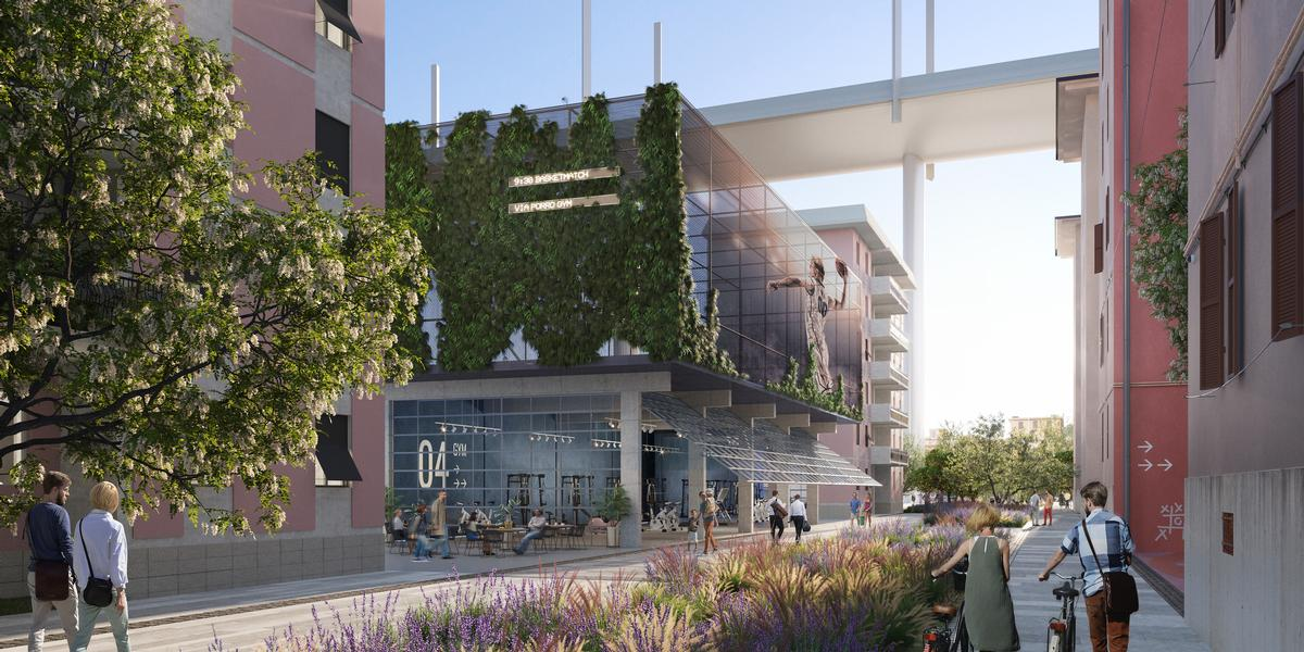 The World Buildings are aimed at helping to reinvigorate the local economy / Renovatio Design