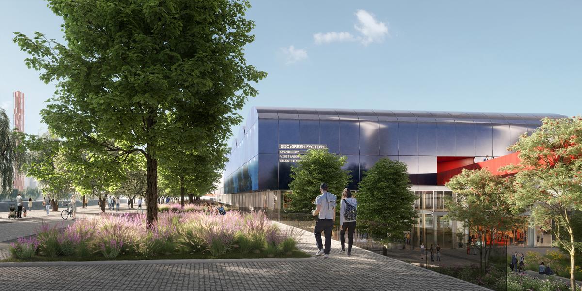 The overall aim of the scheme is to reinvigorate the area / Renovatio Design