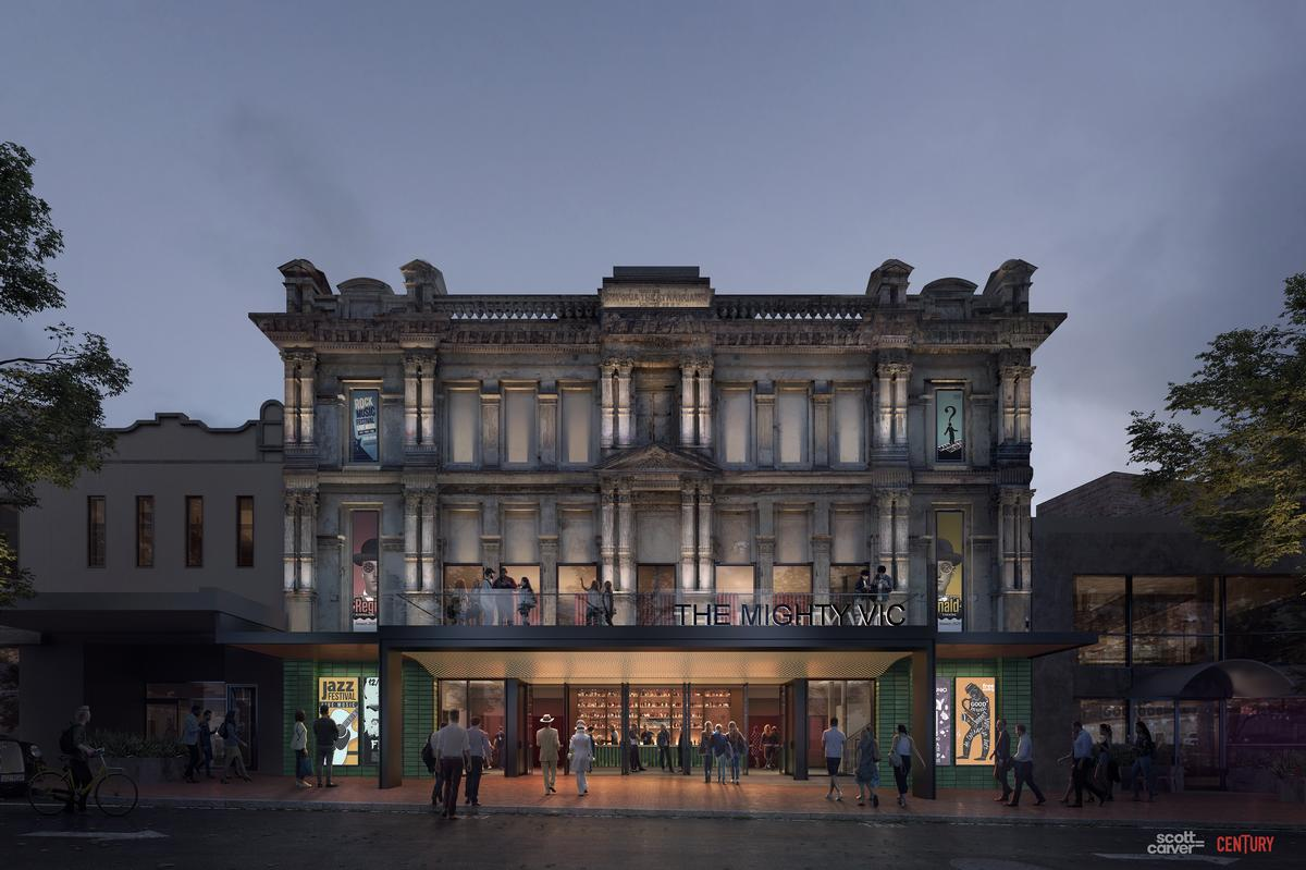 The theatre is expected to cost around AU$11.5m (US$7.8m, €7m, £6.1m) to refurbish / Scott Carver / Synth Visual