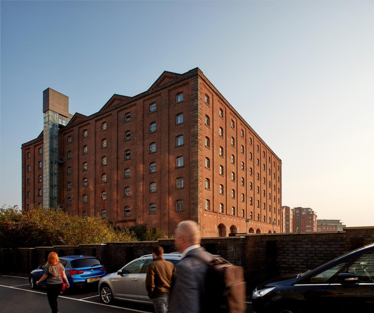 The Ducie Street warehouse is a grade II listed building / Native