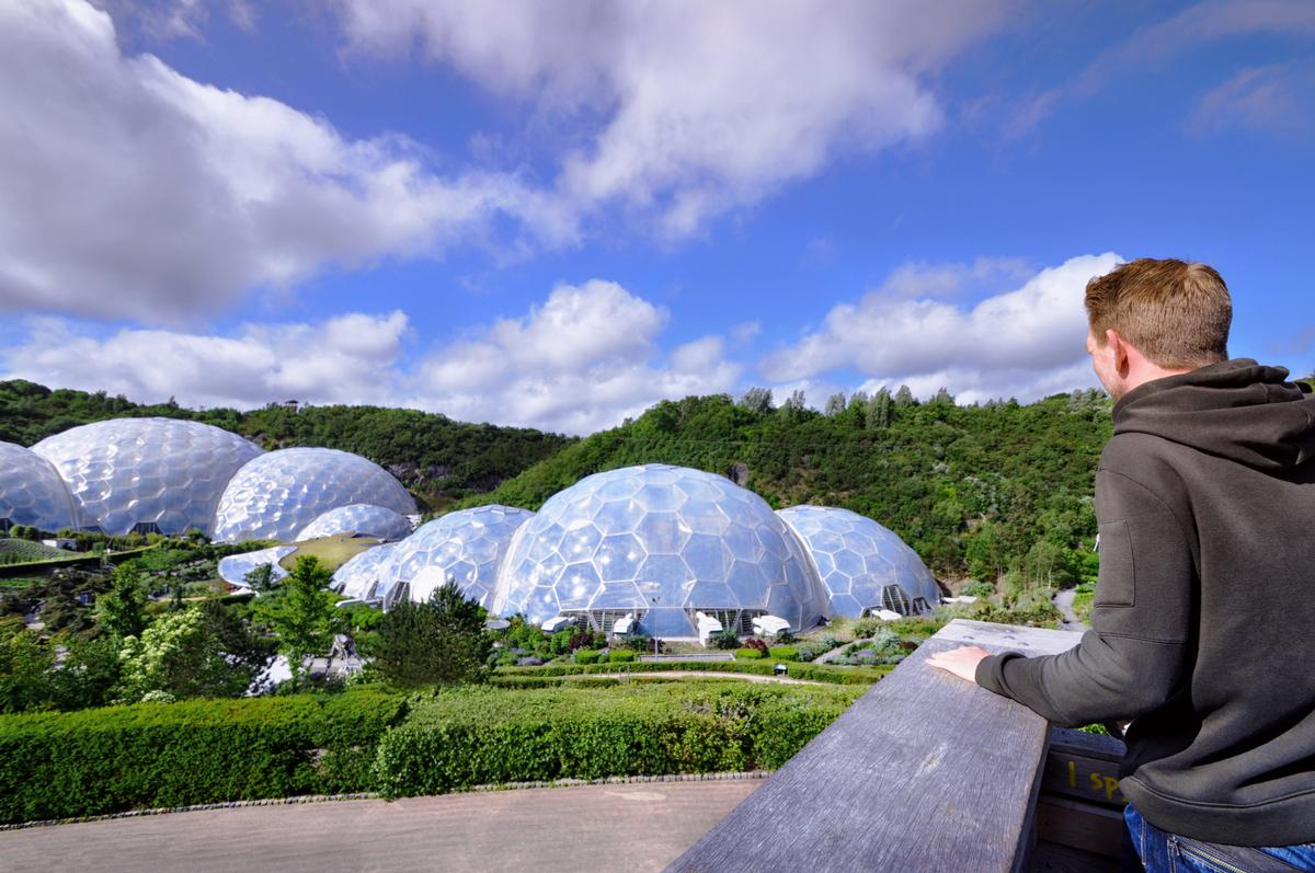 The Eden Project aims to be carbon positive by 2023 through its geothermal energy initiative / Shutterstock