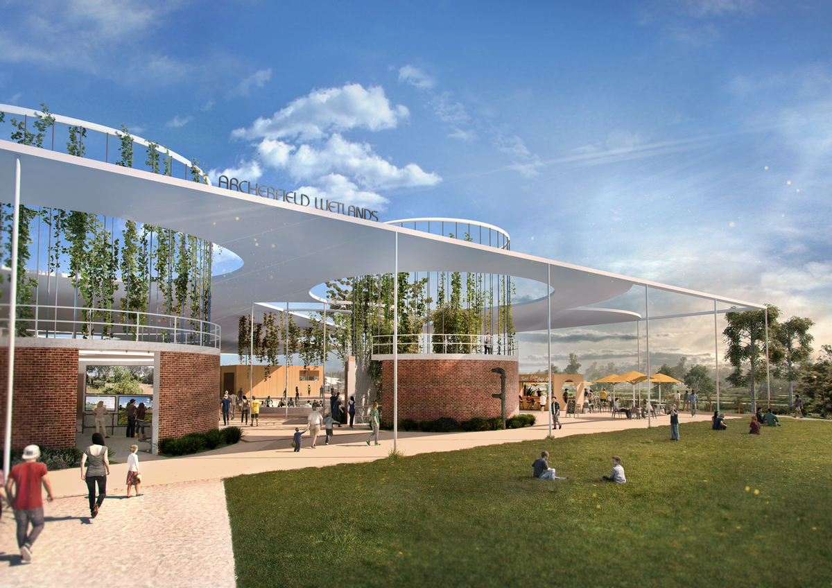 There will be a community, educational and commercial hub / Oxley Creek Transformation