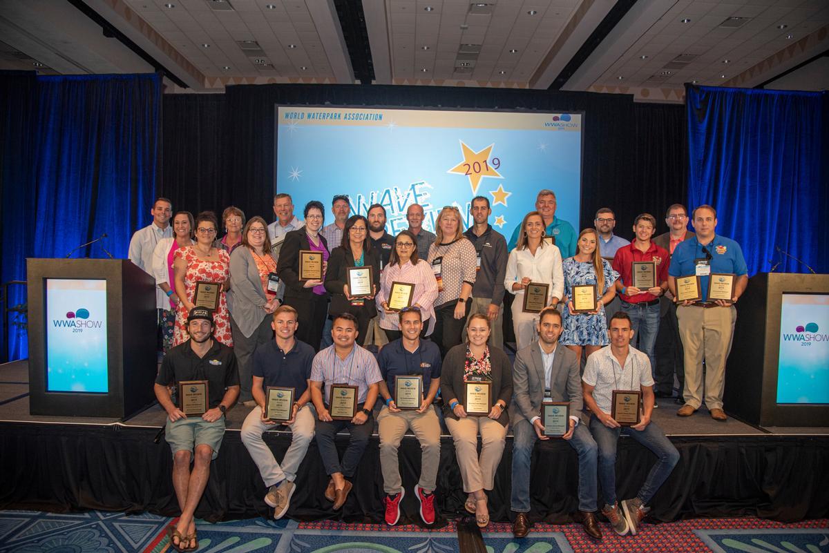 All smiles: winners of the WWA Show 2019 Wave Review Awards / Joseph Leute Photography / WWA