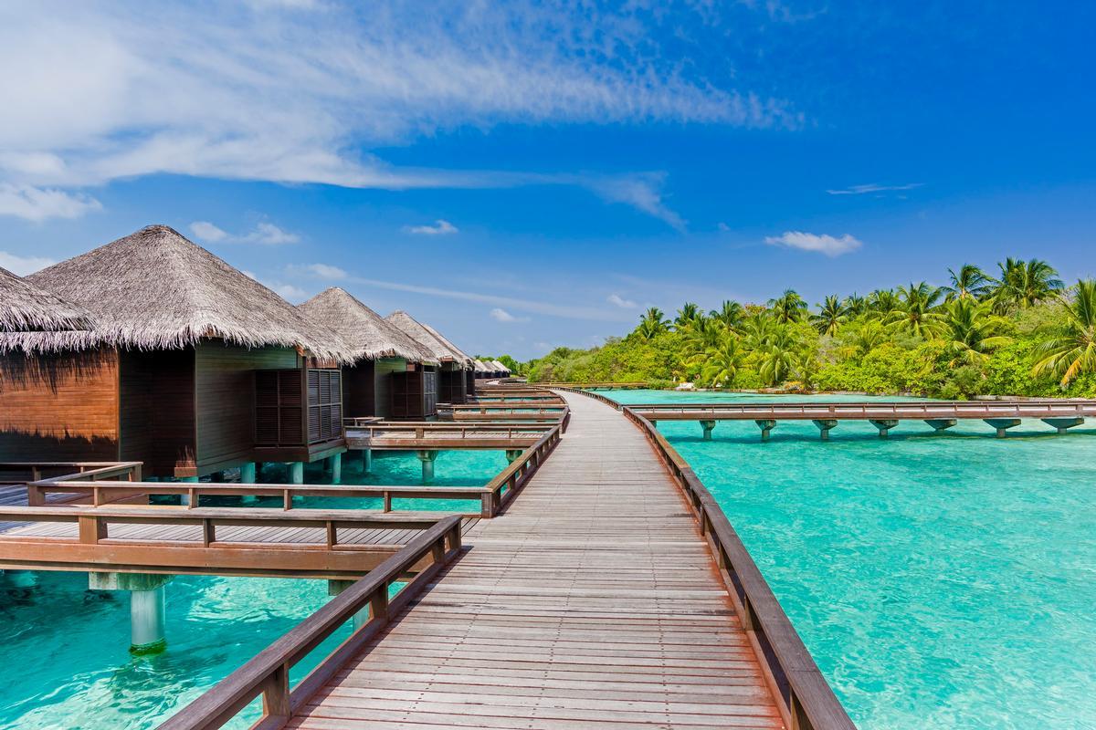 Water Villas at the Sheraton Maldives resort
