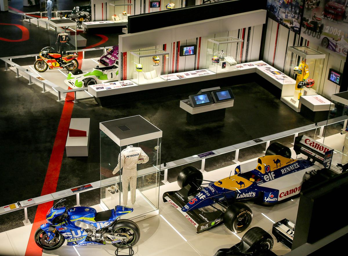 ...up to the modern era / The Silverstone Experience