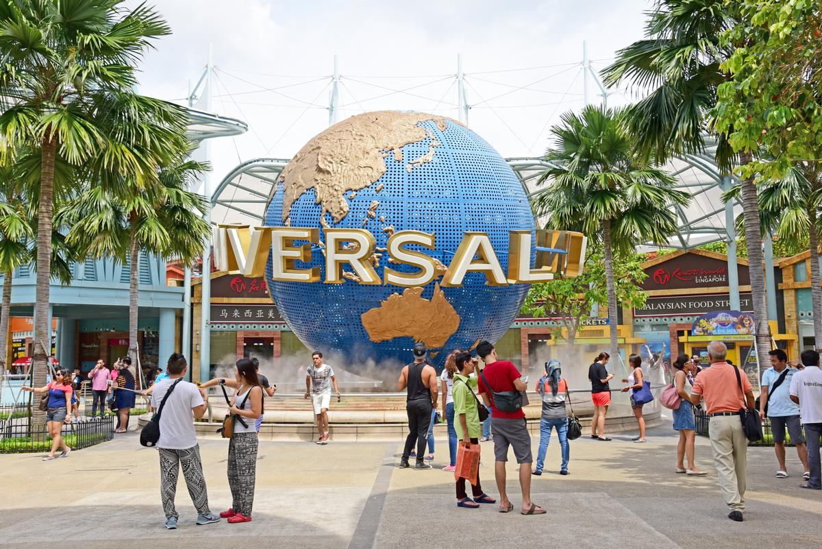 Singapore has one of Universal's four current theme parks / Shutterstock