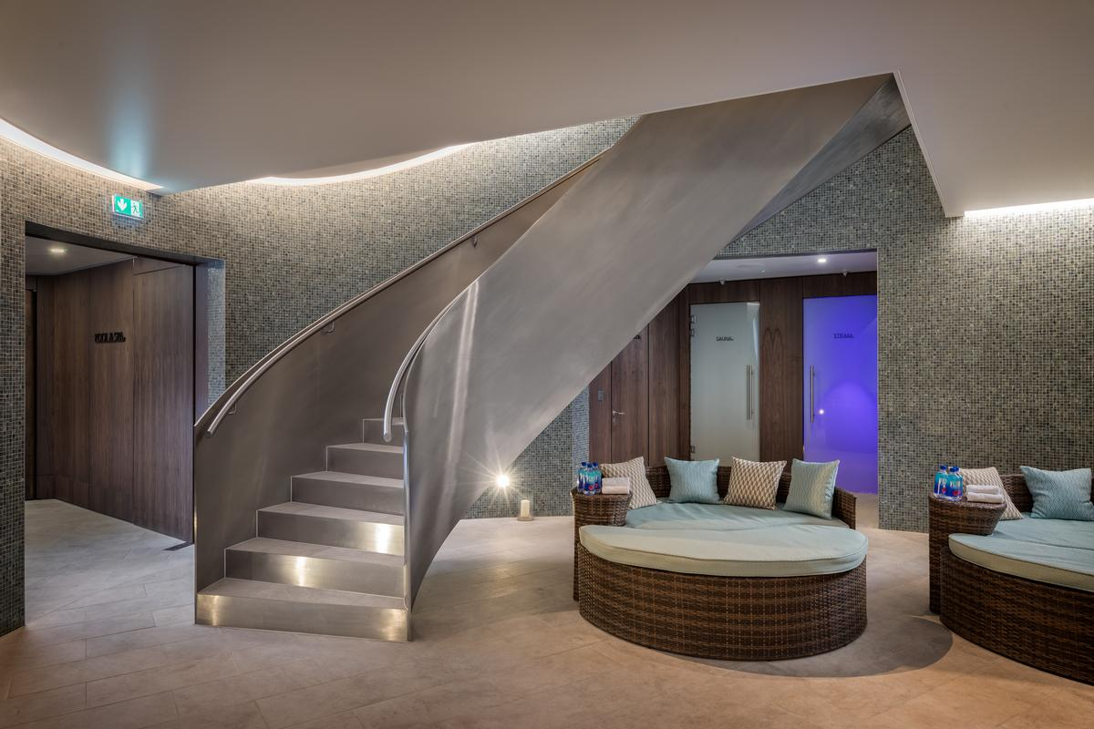 The Mansion has 6,500sq ft (600sq m) of wellness-focused amenities