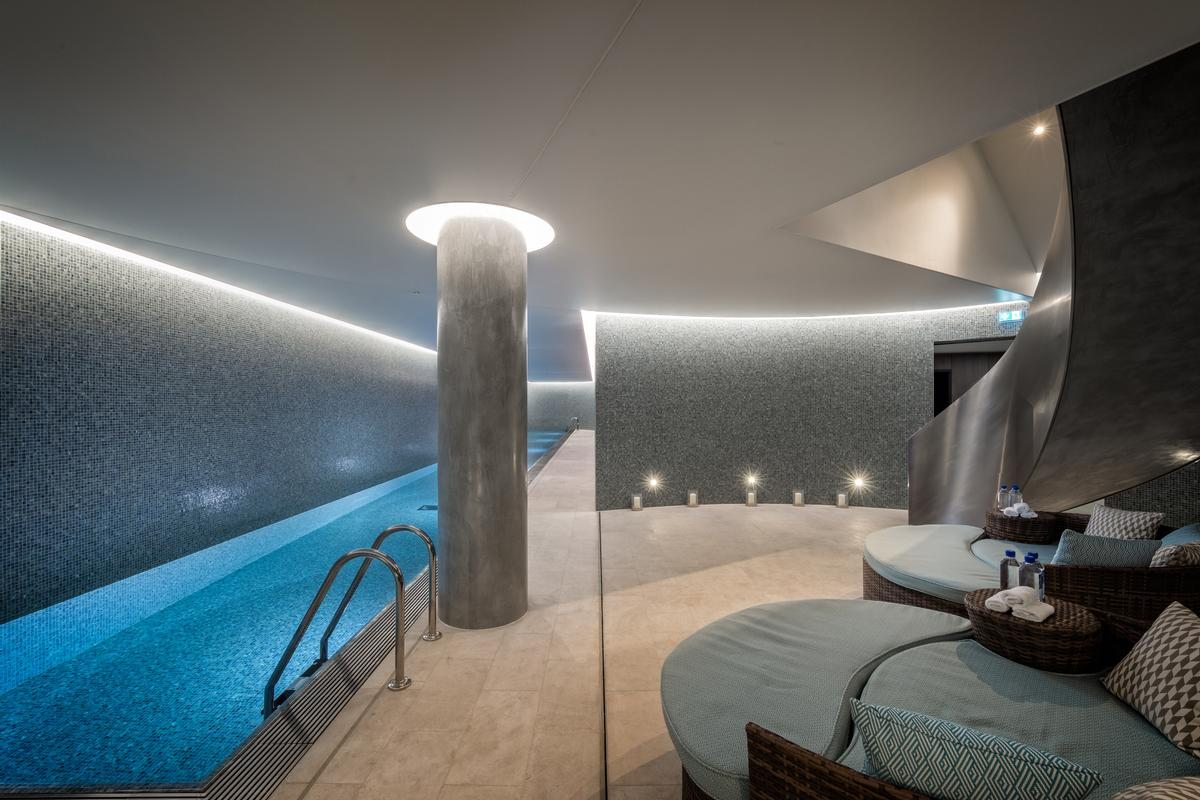 Residents have access to a 25m (82ft) private pool