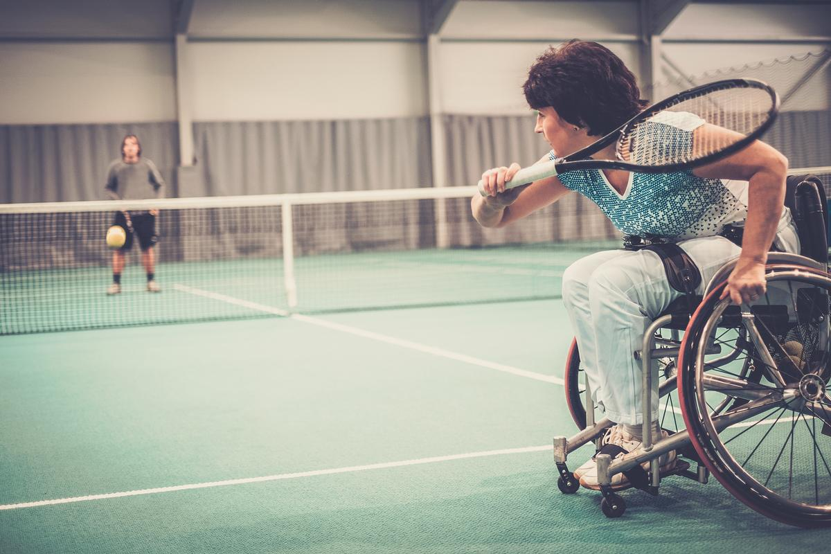 A BMA report showed that people living with disabilities came below the national average in physical activity levels