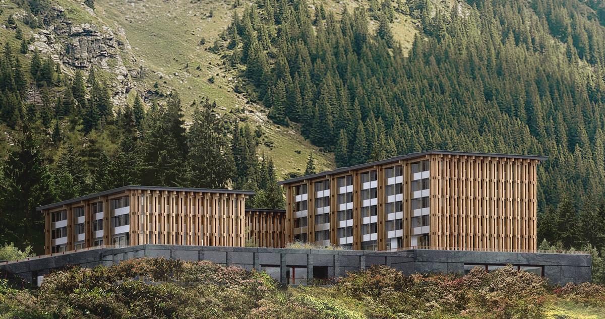 The Acquarossa is located in the village of in Ticino, Switzerland / Hesselbrand