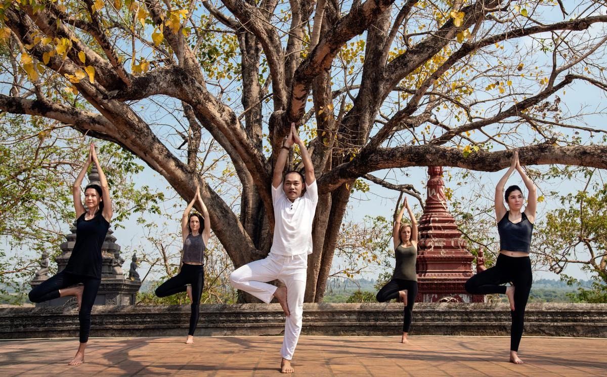 Linked to Cambodia's cultural heritage, each different journey celebrates Khmer healing practices and traditions. / Anantara Angkor Resort
