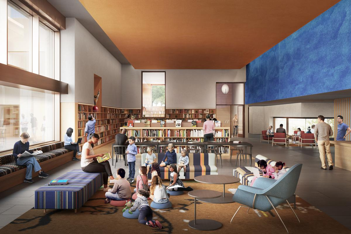 The new branch of the Chicago Public Library at the Obama Presidential Center / The Obama Presidential Center