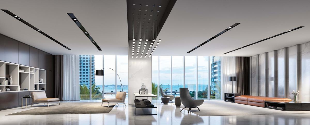 The development will contain around 390 apartments / Aston Martin
