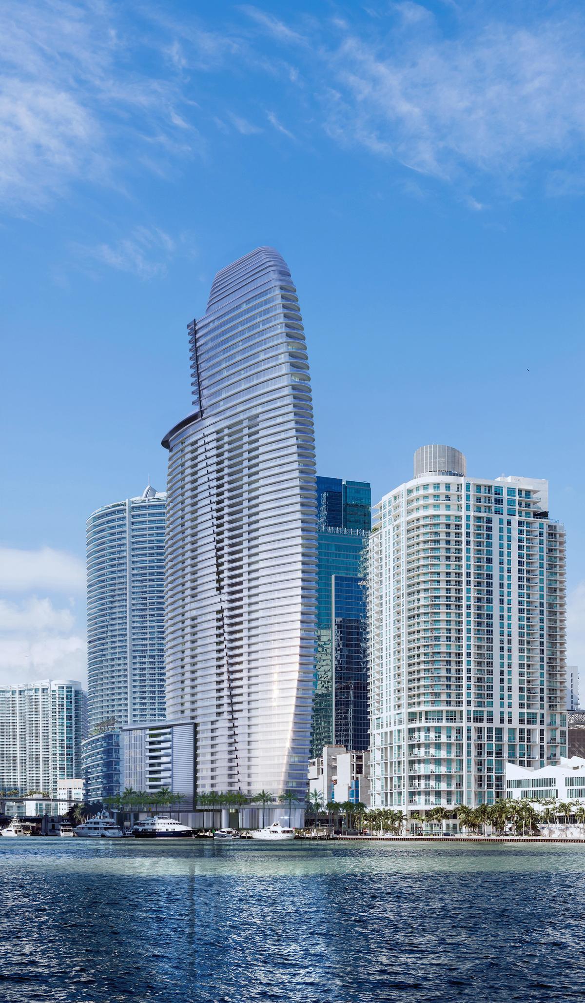 It is located in Miami / Aston Martin