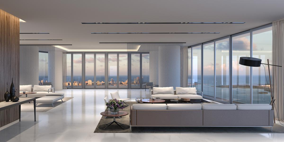 The building will provide views out over Miami too / Aston Martin